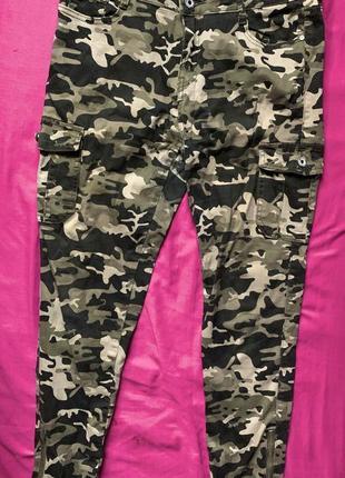 Продам бомбезные джинсы, военные женские