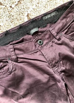 Котоновые брюки guess