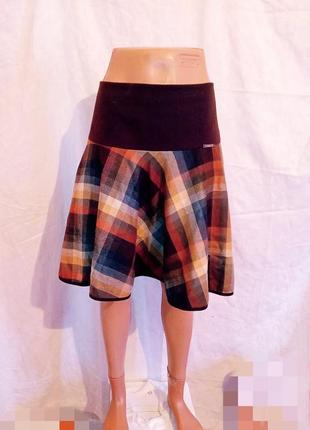 Классная стильная юбка на осень