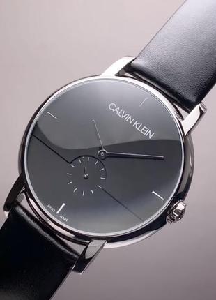 - 54% | мужские швейцарские классические часы calvin klein k9h2x1 (оригинальные, с биркой)