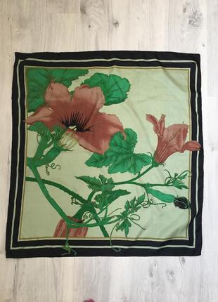 Большой шелковый платок 85*82