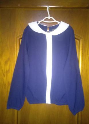 Блуза для девочки школа