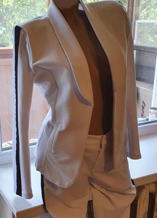 Стильный брючный костюм miss esta (турция).
