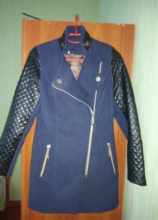 Пальто демисезонное куртка весна осень