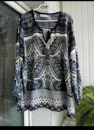 Красивпя блуза большого размера батал