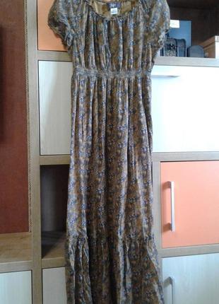Платье летнее из хлопка