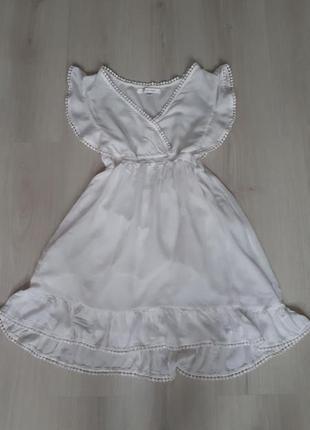 Нежное воздушное платье вискоза