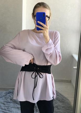 Нежно розовая кофта/ блуза chicorèe