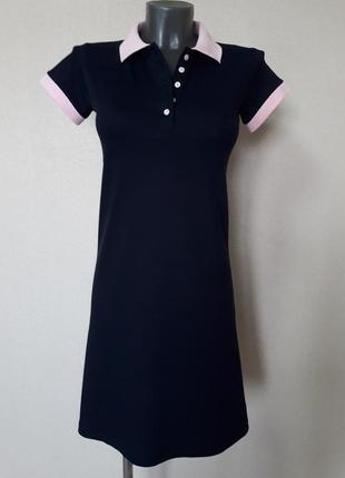 Акция до 15 августа! красивое,качественное,спортивное прогулочное платье-поло