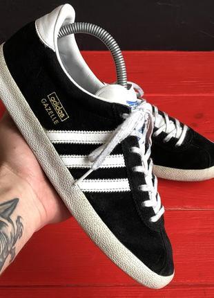 Кроссовки adidas gazelle черные