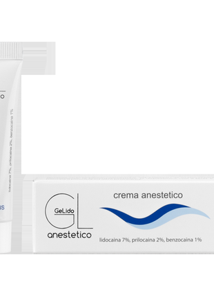 Анестетик крем gelido anestetico