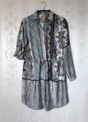 Платье рубашка на пуговицах атласное шелковое платье,туника,рубашка,блуза!