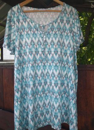 Короткое платье, туника gina benotti xxl