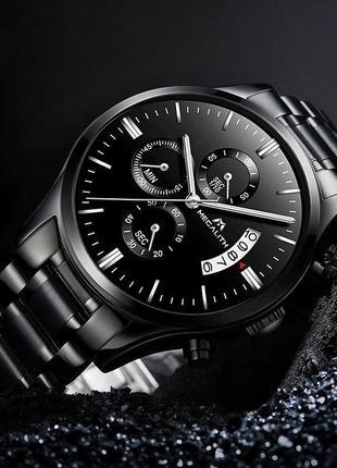Мужские часы | классические часы megalith 0105m all black