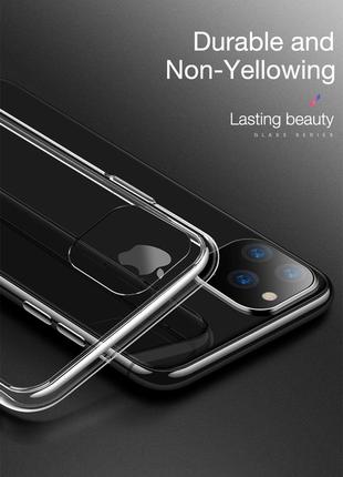 Прозрачный чехол чохол tpu (термополиуретан) на apple iphone айфон 11/ 11 pro/ 11 pro max