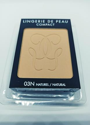 Компактная пудрa guerlain lingerie de peau