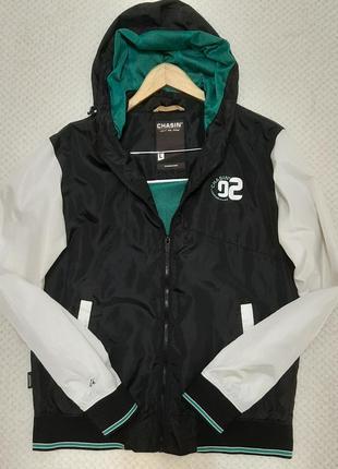 Chasin водоотталкивающая куртка ветровка р.48-50 (l) голландия,на подкладке