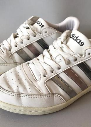 Кроссовки кеды adidas neo женские белые
