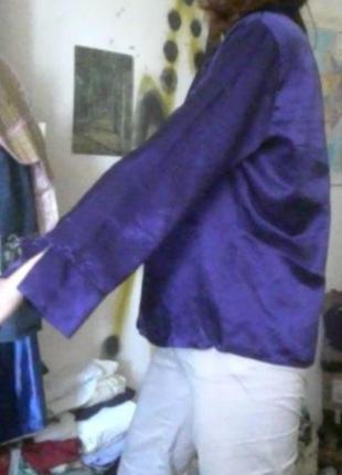 Атласная ночная рубашка с блеском верх от пижамы