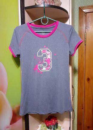 Спортивная футболка для девочек crane