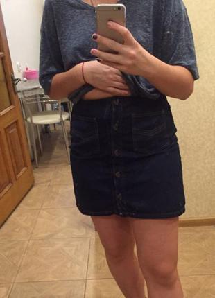 Продам джинсовую юбку asos