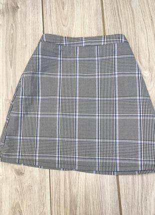 Primark юбка в клетку тренд h&m zara