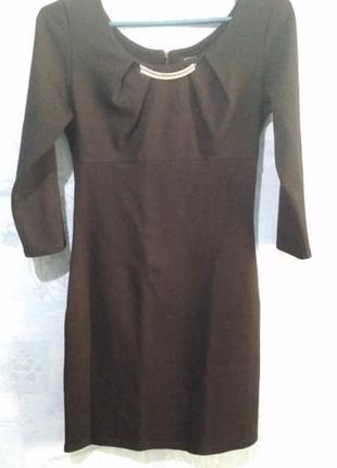 Чёрное платье, школьное платье