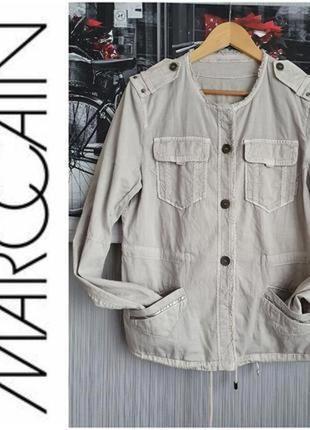 Marc cain стильный фирменный пиджак куртка размер м