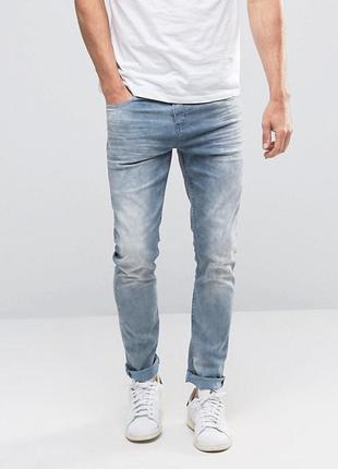 Брендовые джинсы scotch & soda amsterdams blauw р. 48-50 (33/34)