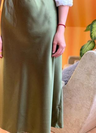 Сатиновая юбка от cropp