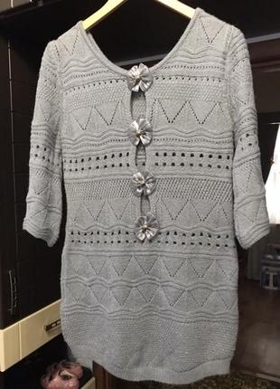 Кофта туника свитер