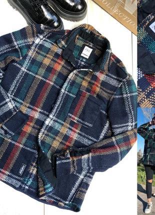 Клетчатая стильная рубашка zara