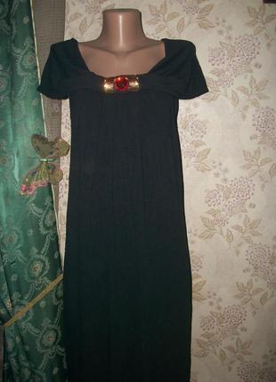 Фирменное платье в пол для пышных дам!