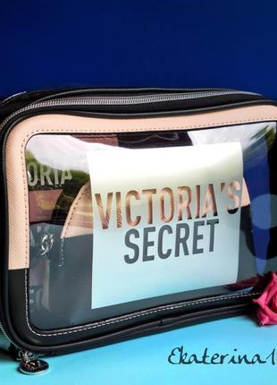 Стильный набор косметичек victoria's secret