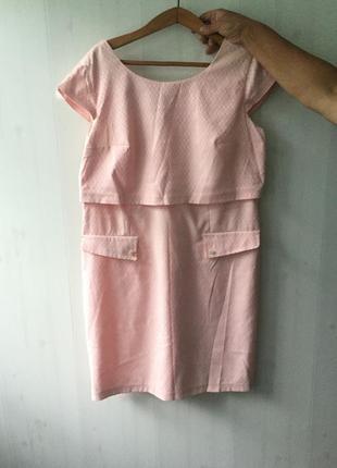 Нежное красивое женское платье лето