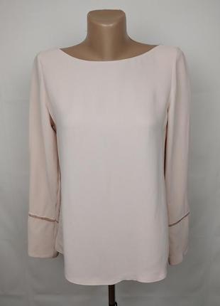 Блуза кремовая шикарная натуральная оригинал! massimo dutti xs-s