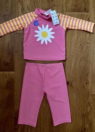 Солнцезащитный костюм для плавания 86-92см
