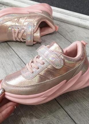 Мега стильные кроссовки для девочек