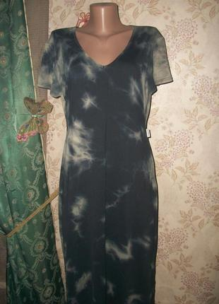 Сексуальное платье в пол с соблазнительным разрезом!
