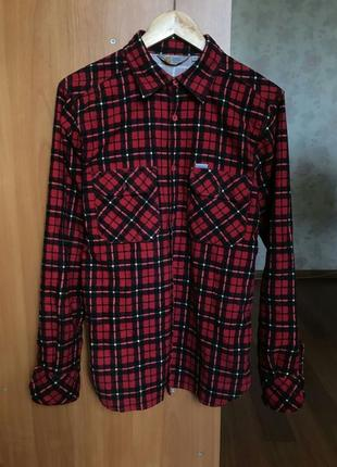 Рубашка в клетку carhartt
