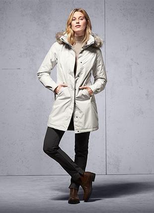 Шикарное зимнее термо пальто, мембрана 3000 от тсм tchibo (чибо), германия,укр 48-50