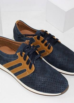 Мужские летние туфли