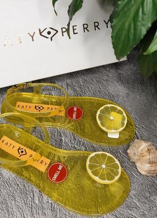 Сандалии, босоножки katy perry, оригинал 36-36.5 пахнут лимончиком