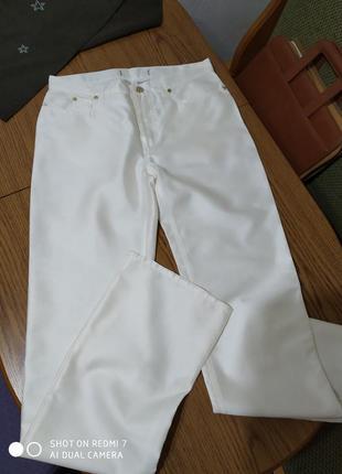 Бомбезні брендові штанці,шовк-котон,max mara