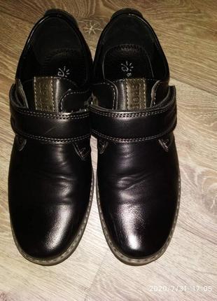 Школьные туфли 37