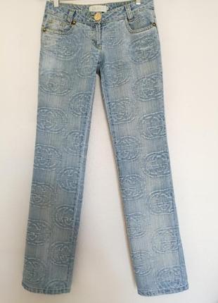 Gucci джинсы прямые 28-29р