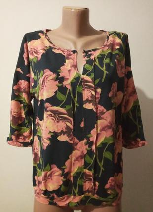 Блузка блузон трико ткань  next morocco