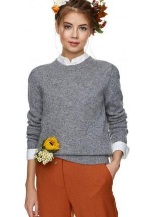 Базовый шерстяной свитер джемпер от  benetton