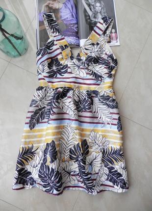 Запоплююче нове плаття платье h&m з оригінальною спинкою
