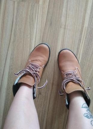 Классные ботинки сапоги зима